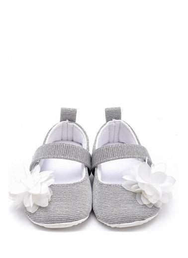 First Step Bebek Patiği-G-2000 Gümüş